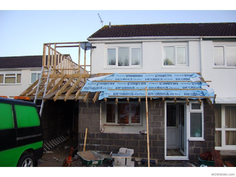 2 storey extention